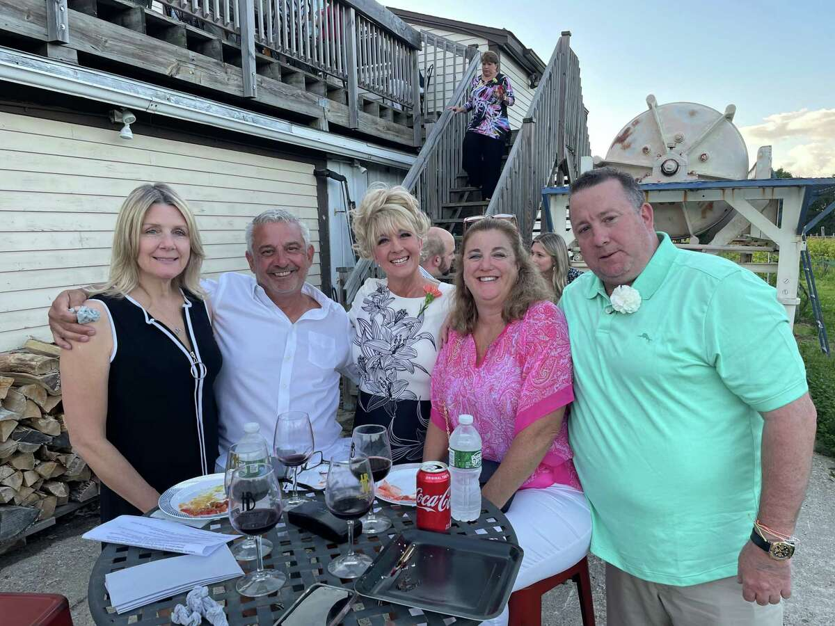 Friendly Hands Food Bank held its 30th anniversary gala June 12 at Haight-Brown Vineyard in Litchfield.