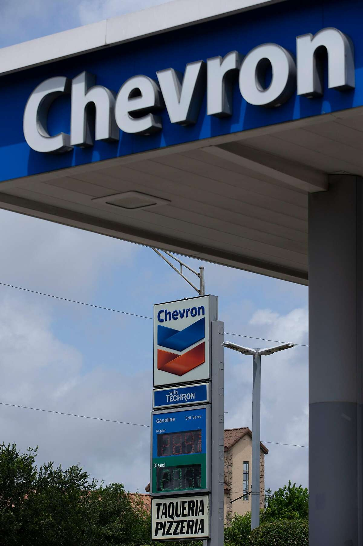 Chevron is one of five oil companies being sued for their role in emissions that increase global warming.