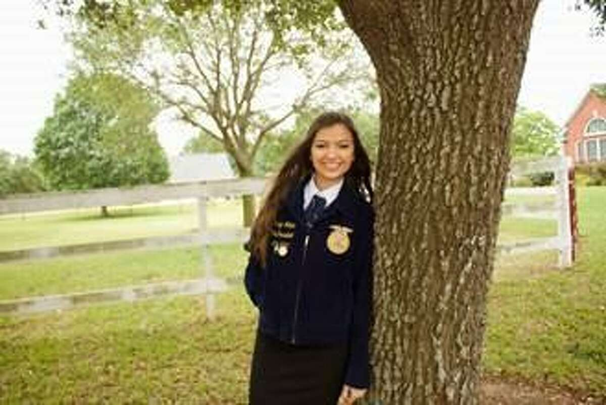 Katy High School's Camryn Wilder recently earned a $20,000 scholarship from the Texas FFA Association.