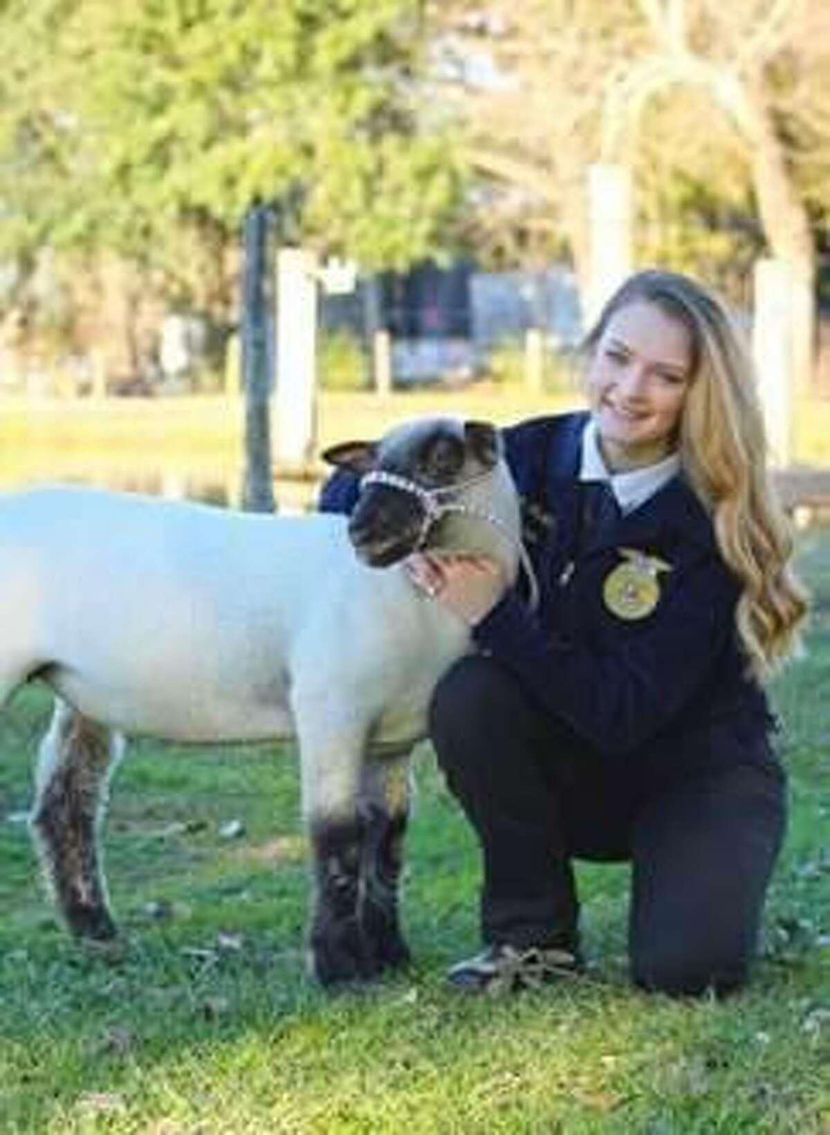 Katy High School's Skyler Weathers recently earned a $20,000 scholarship from the Texas FFA Association.