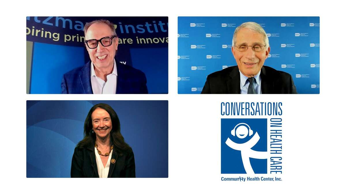 """Community Health Centers, based in Connecticut, will host an interview with Dr. Anthony Fauci on its radio show, """"Conversations on Health Care."""""""