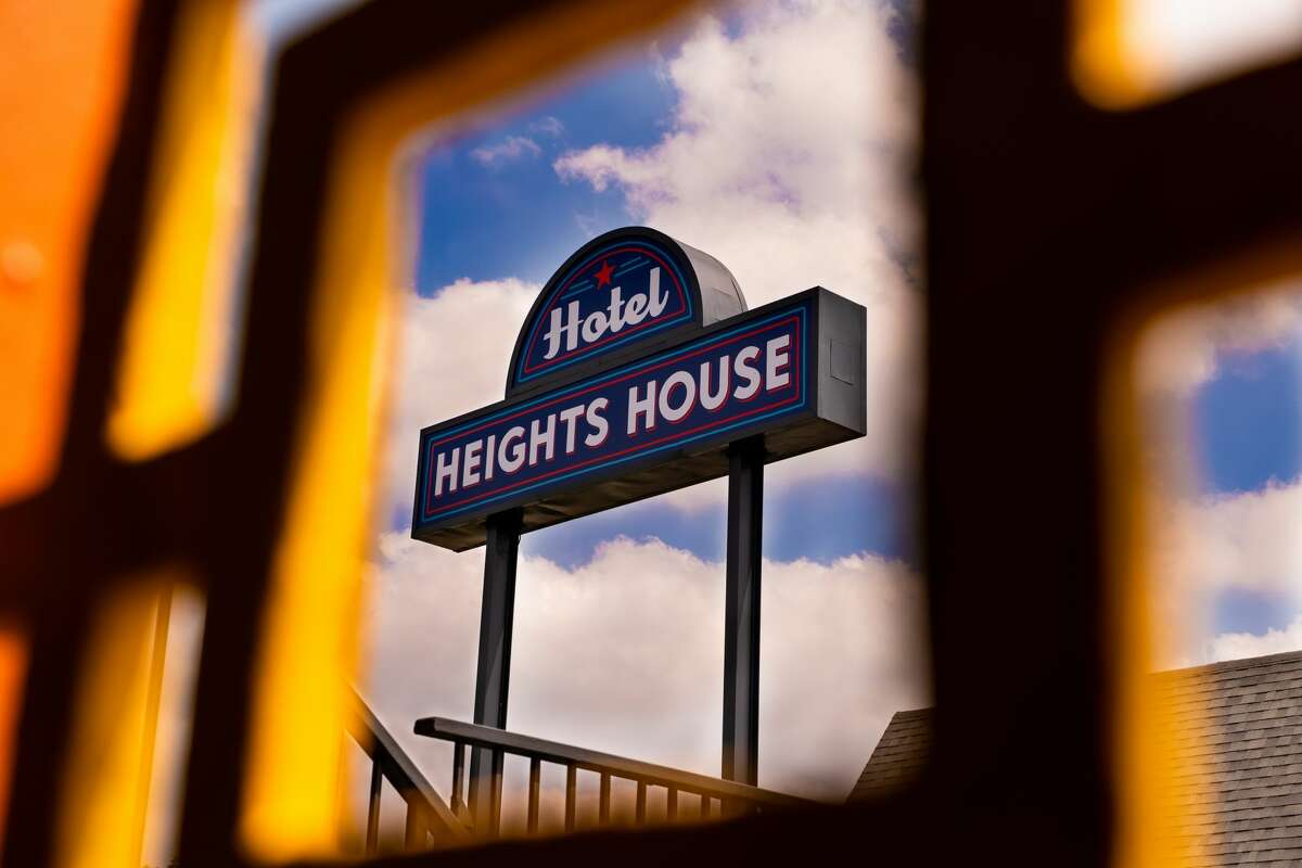 The former Astro Inn reopened as the Heights House Hotel after a $3.5 million renovation.