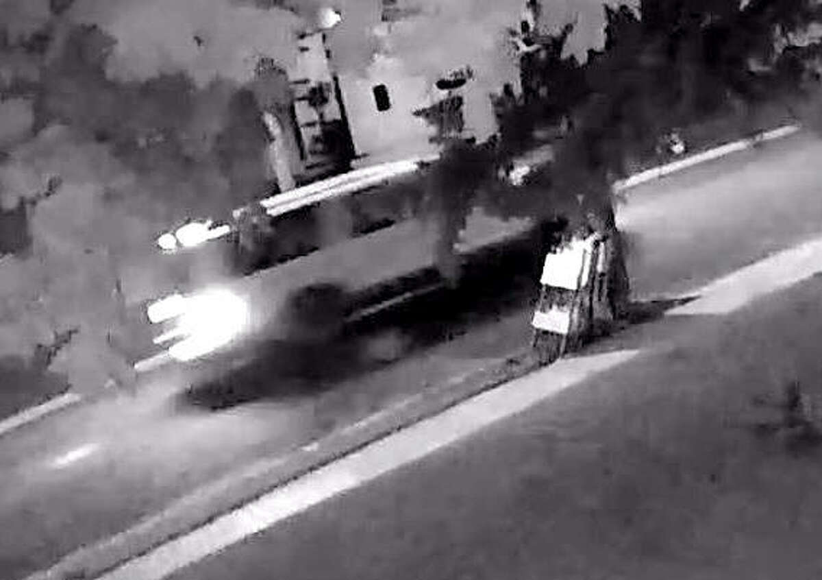 Police believe this vehicle may be connected to the abduction of a teenage girl Monday in Peru.