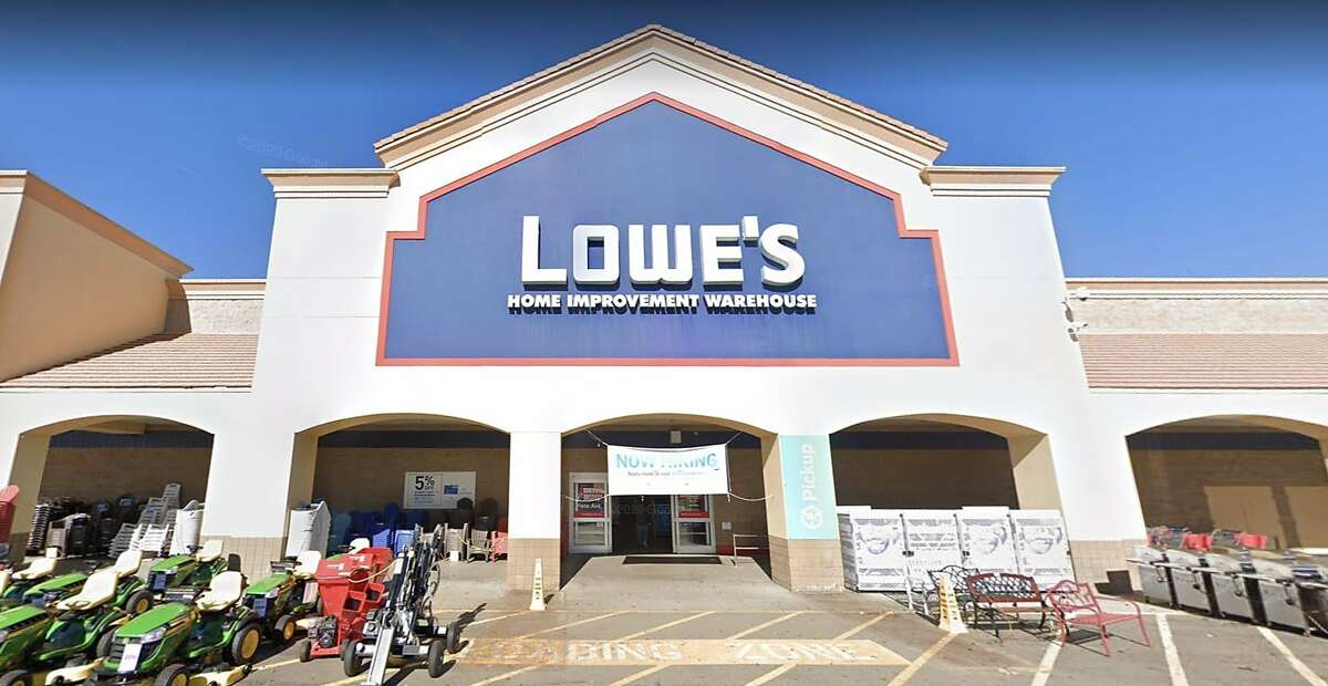 A Lowe's store in Vacaville, Calif. A former employee at the store is now suing the home-improvement giant, claiming he faced retaliation after filing complaints of sexual harassment at work.