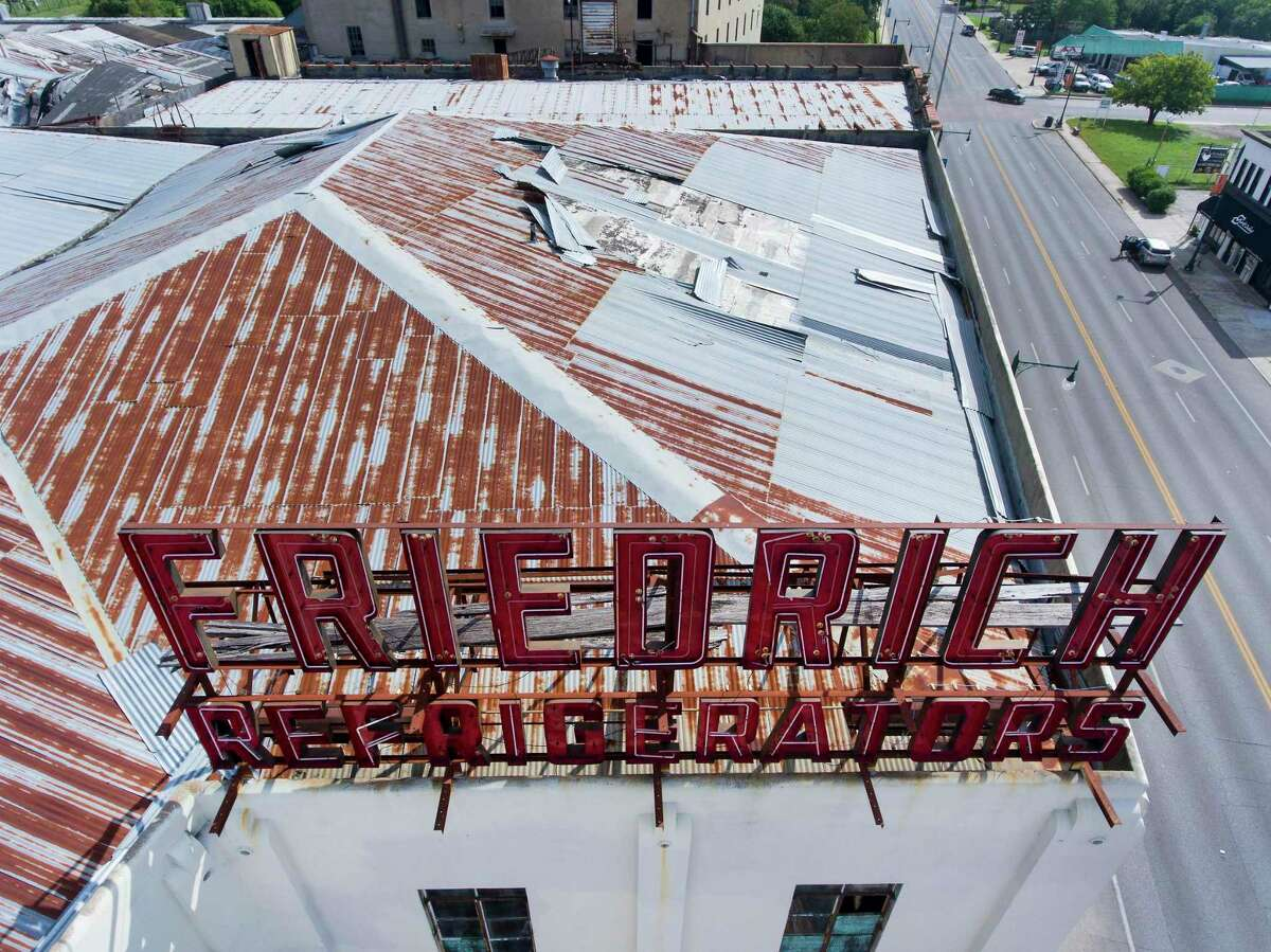 Provident Realty Advisors wants to demolish most of the buildings at the Friedrich complex and build apartments. The structures along East Commerce are not part of the company's project and will not be razed.