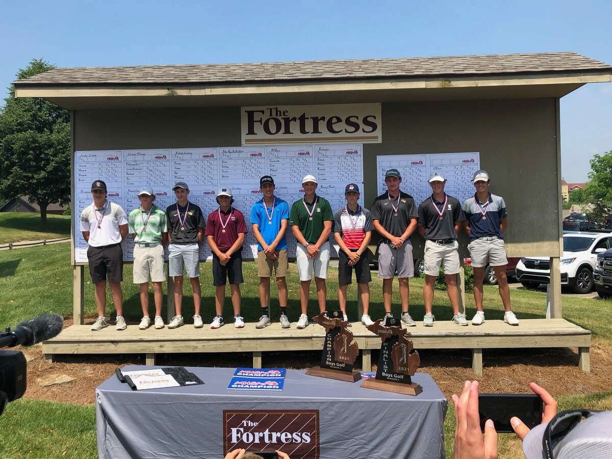 Laker's Hunter Krohn finished sixth overall and the Laker team placed 12th at the MHSAA Division 4 boys golf finals at The Fortress in Frankenmuth on Saturday. Cass City's Ryan Pisarek finished eighth.