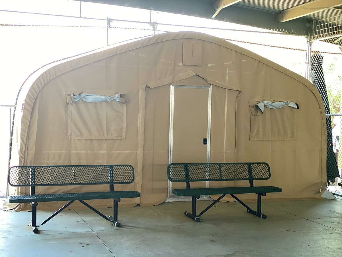 Shelter tents are expected to be deployed soon throughout the Laredo Sector. These tents will be used to prevent the spread of COVID-19 and to process the overflow of migrants.
