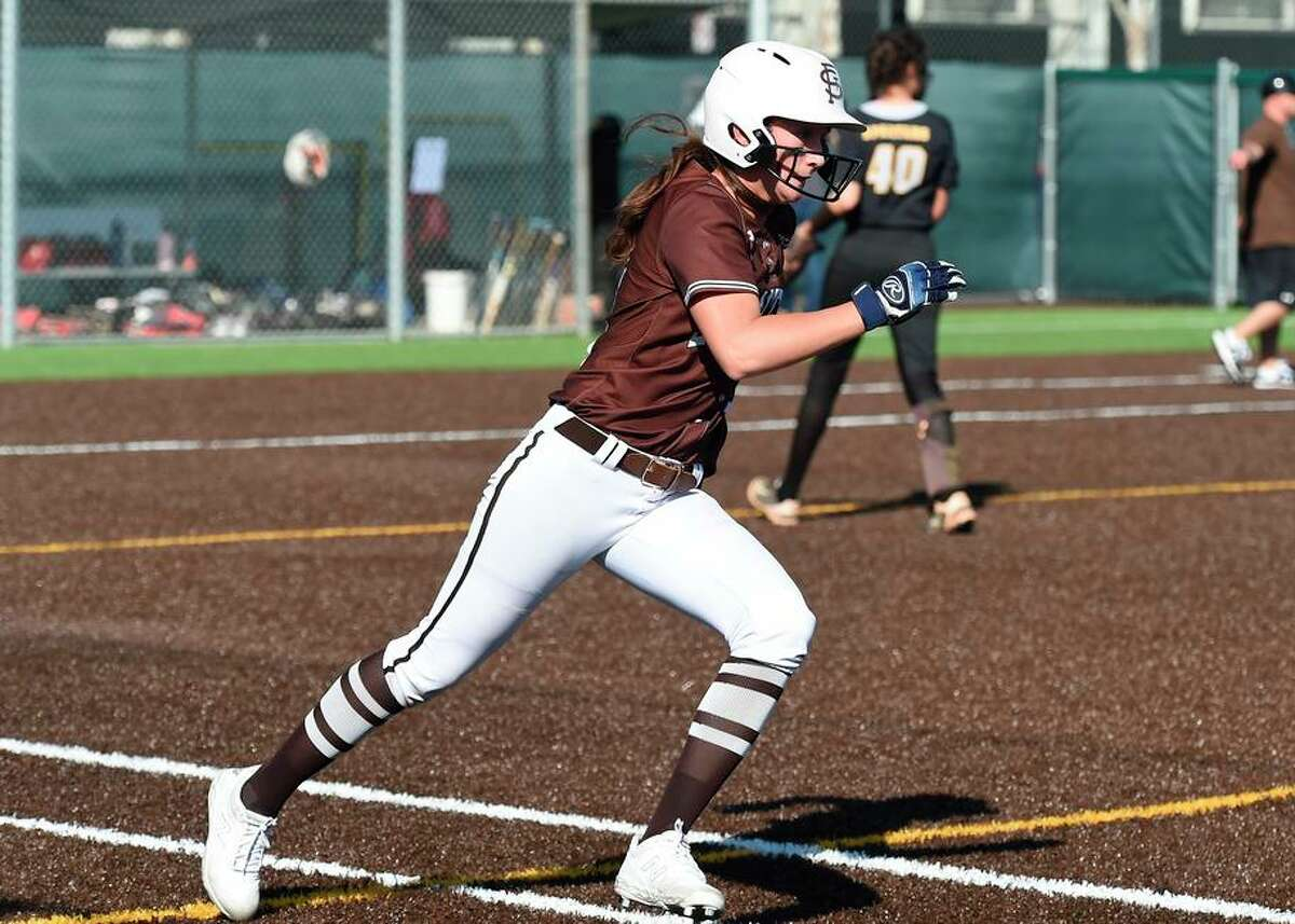 Junior Jessica Oakland, who has committed to play at Minnesota, batted .612 with 19 homers and 55 RBIs for St. Francis.