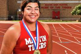 Martin's Melanie Duron is the All-City Most Outstanding Athlete.