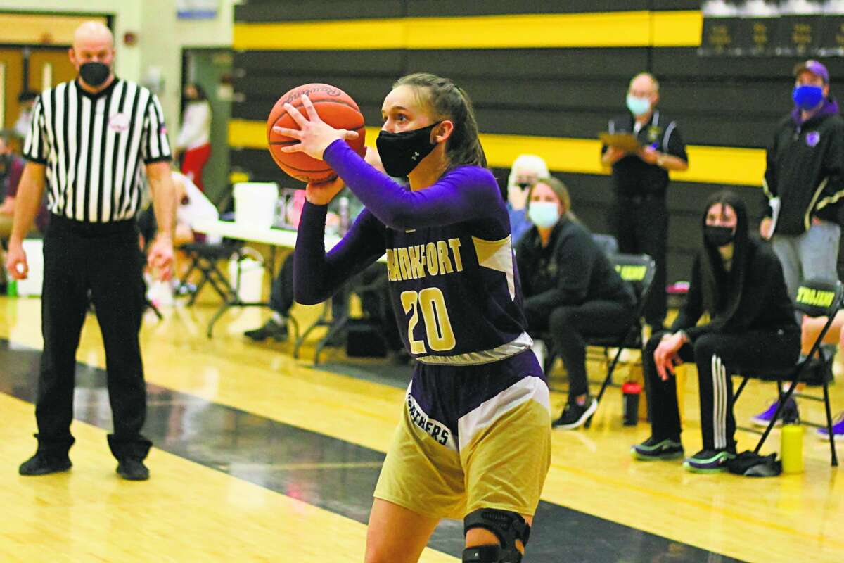 Reagan Thorr earned all-state honors this past season for girls basketball. (Record Patriot file photo)
