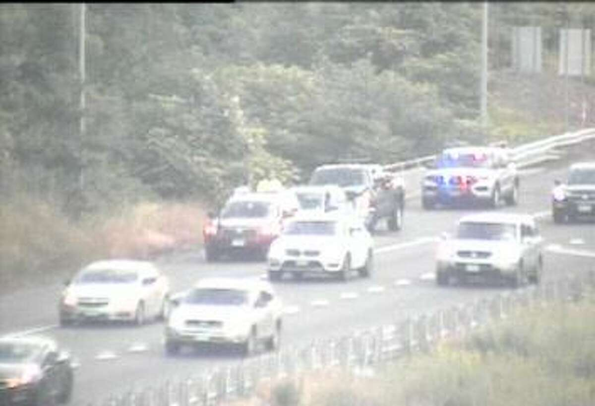 Police activity has closed a portion of Route 8 between exits 4 and 8 Tuesday morning, the state Department of Transportation said.