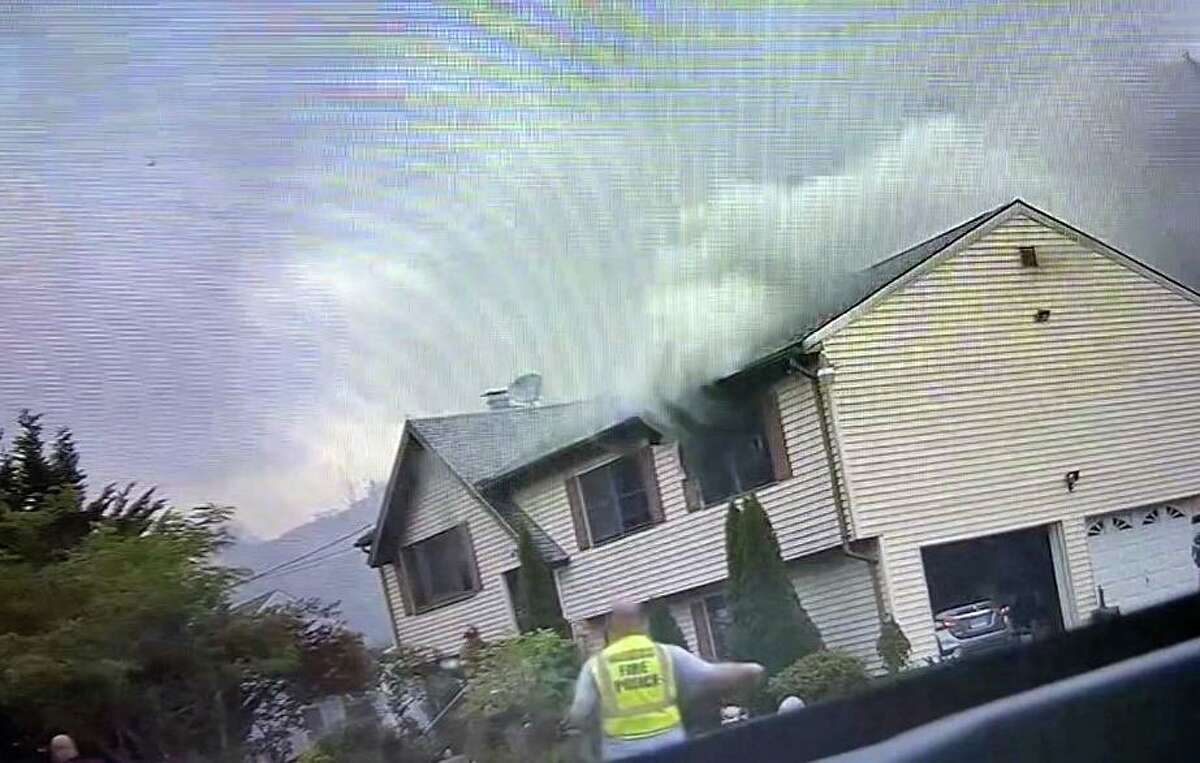 Crews responded to a home on Union City Road in Naugatuck, Conn., around 3:45 p.m. Monday, June 14, 2021, after multiple 911 calls about a house fire.