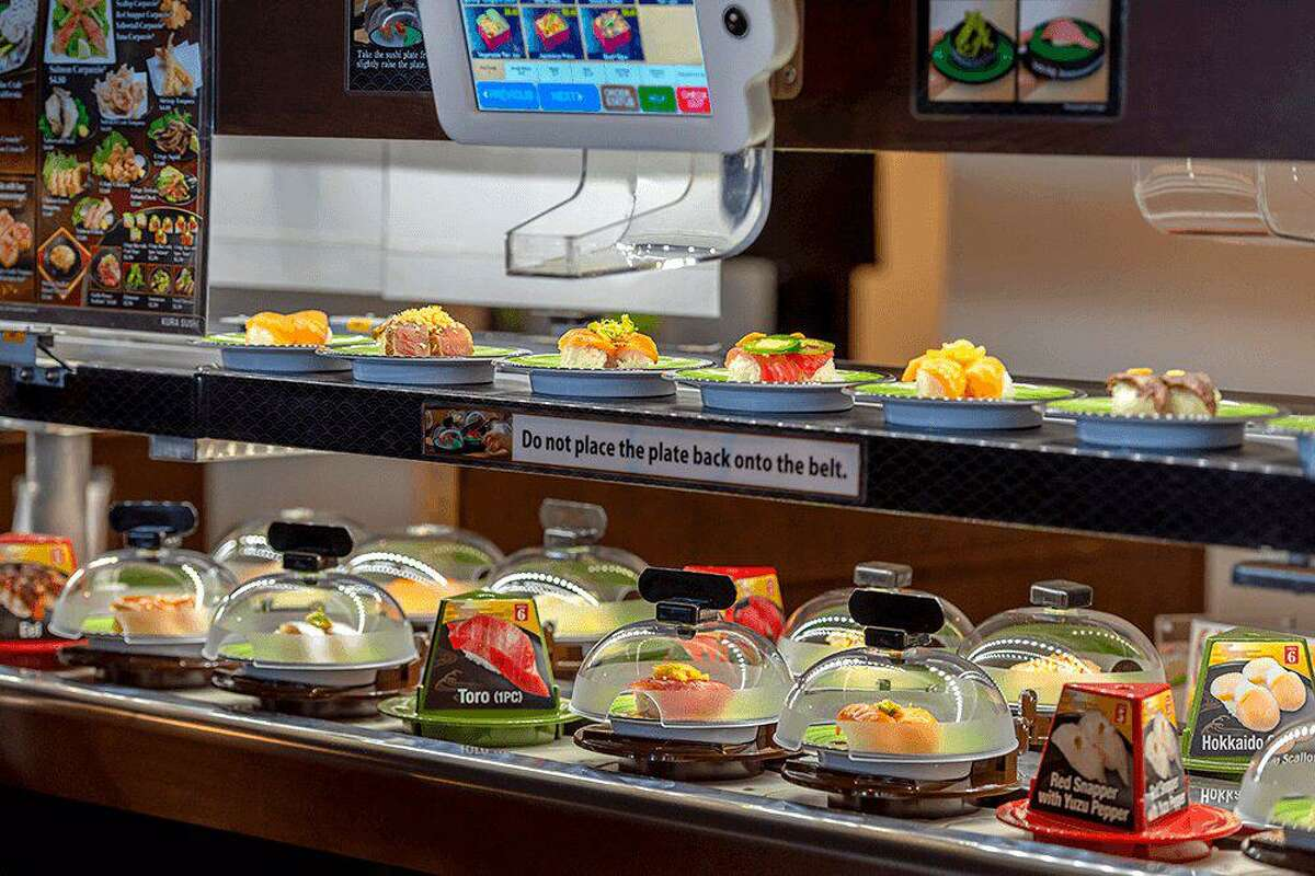 Demand for conveyor belt sushi at Kura Revoling Sushi Bar is even higher now than pre-pandemic.