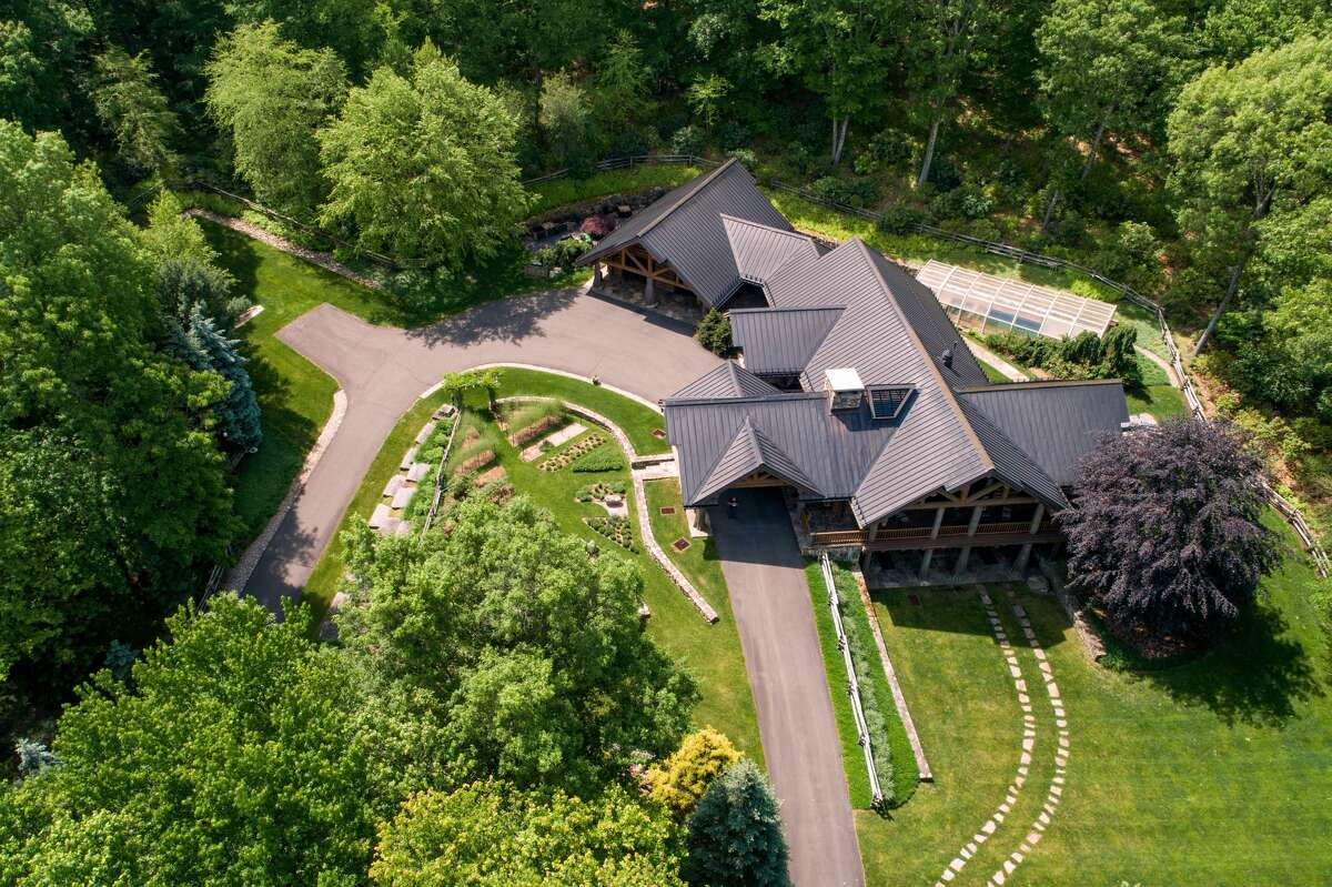 The Bristol homesits on 15.3 acres of land and is located five minutes fromESPNheadquarters and 11 minutes from Lake Compounce.