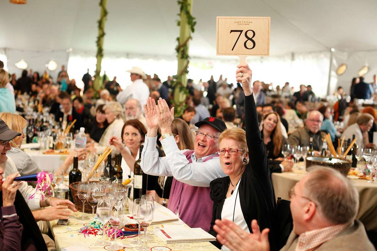 Auction Napa Valley, seen here in 2011.