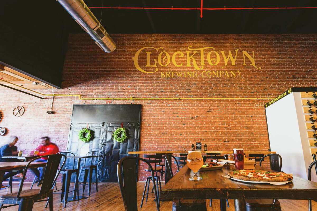 ClockTown Brewing Co. is located in the historic Seth Thomas Clock Factory.