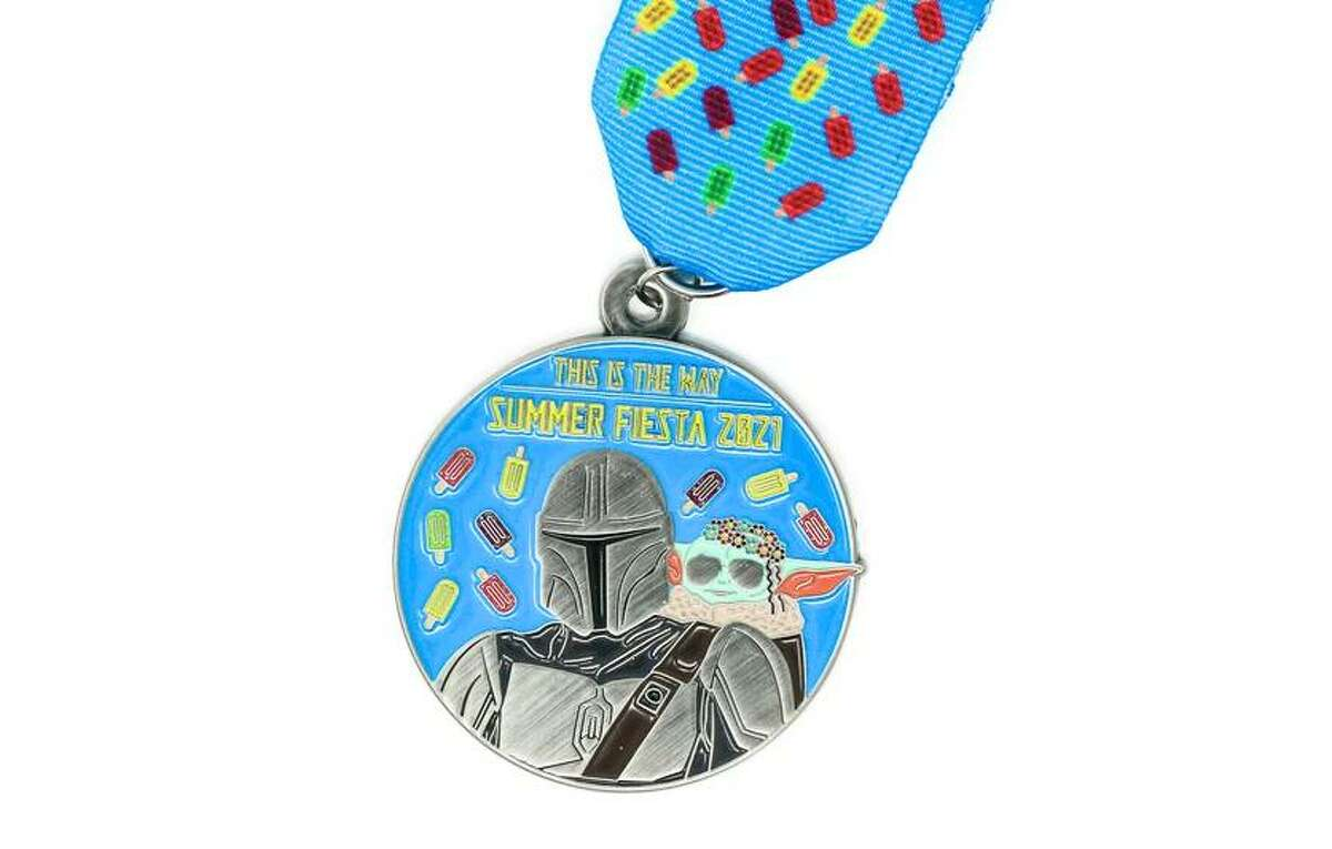 3rd place: This is the way: Summer Fiesta 2021 ($12 at saflavormedals.com)
