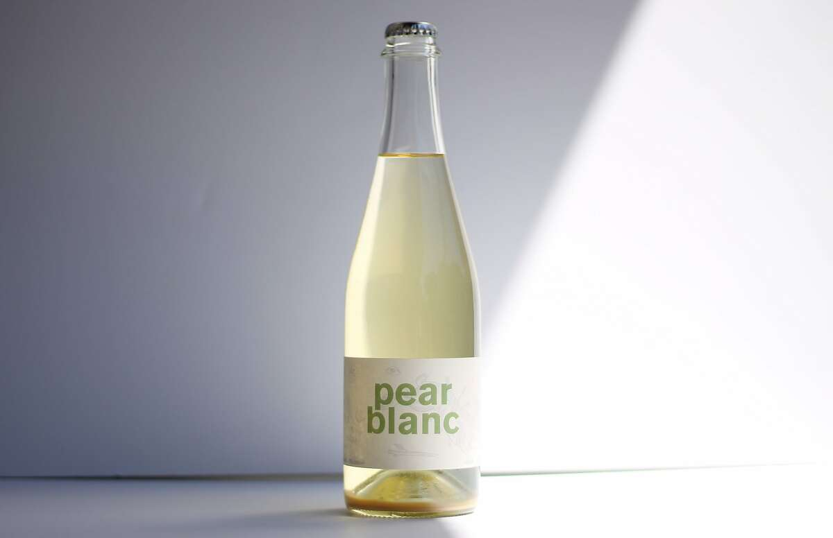 Obsidian Wine Co.'s Pear Blanc is a 50/50 blend of Lake County pears and Sauvignon Blanc.