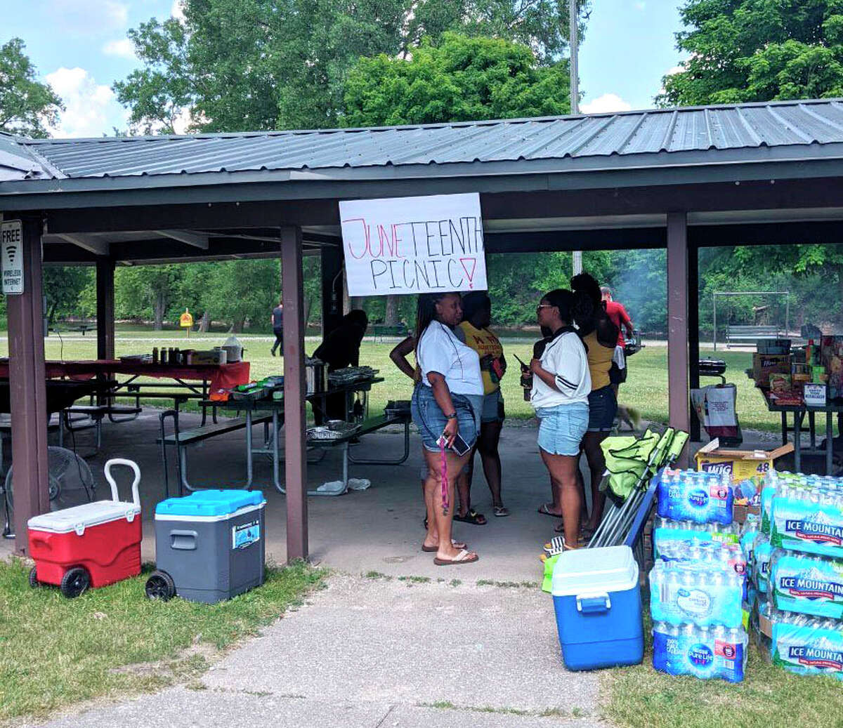 This Saturday, Big Rapids residents and visitors will gather in Hemlock Park for this year's Juneteenth Celebration Picnic.