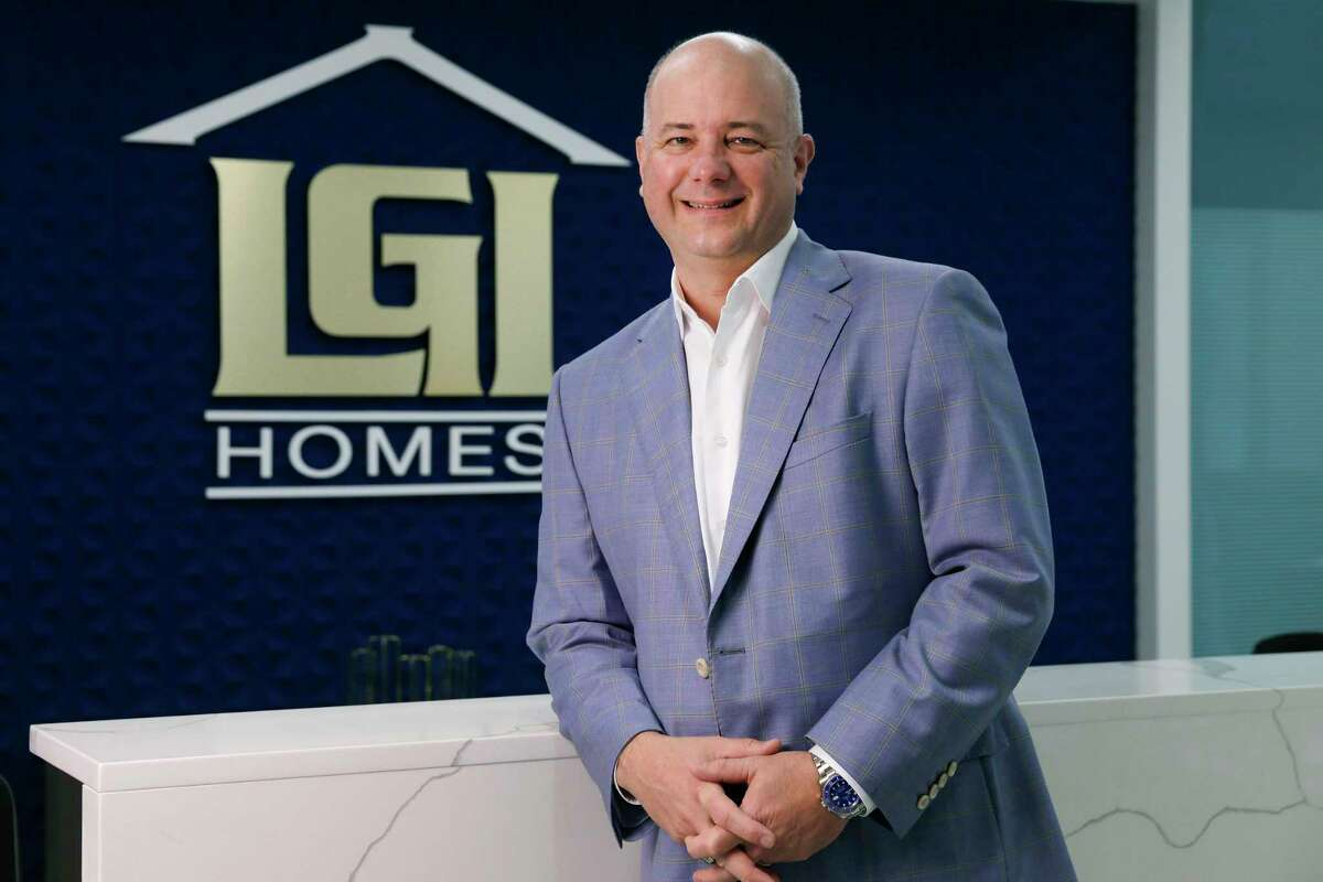 LGI Homes CEO Eric Lipar at the company headquarters Thursday, June 3, 2021 in The Woodlands, TX.