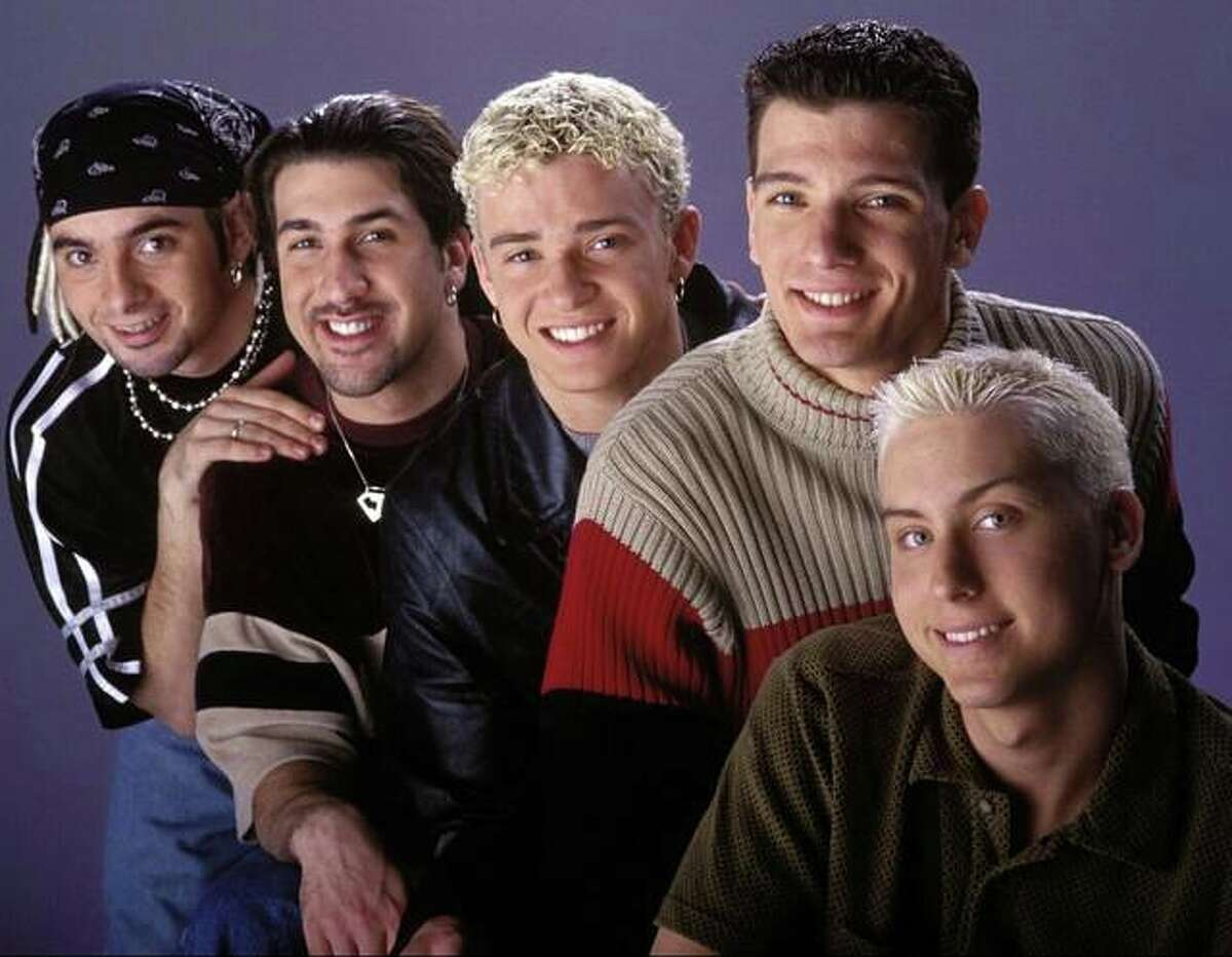 A publicity shot of NSYNC at the height of the band's popularity in the late 1990s, from left to right, founding member Chris Kirkpatrick, Joey Fatone, Justin Timberlake, JC Chasez and Lance Bass. Kirkpatrick will host the Alton River Dragons versus Cape Girardeau Catfish game Thursday during '90s Night. He will hold a meet and greet and sing the national anthem. The first pitch is at 6:35 p.m.