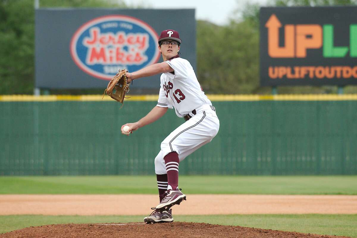 Pearland's Garrett Coiner (13) was selected to the All District 23-6A baseball first team.