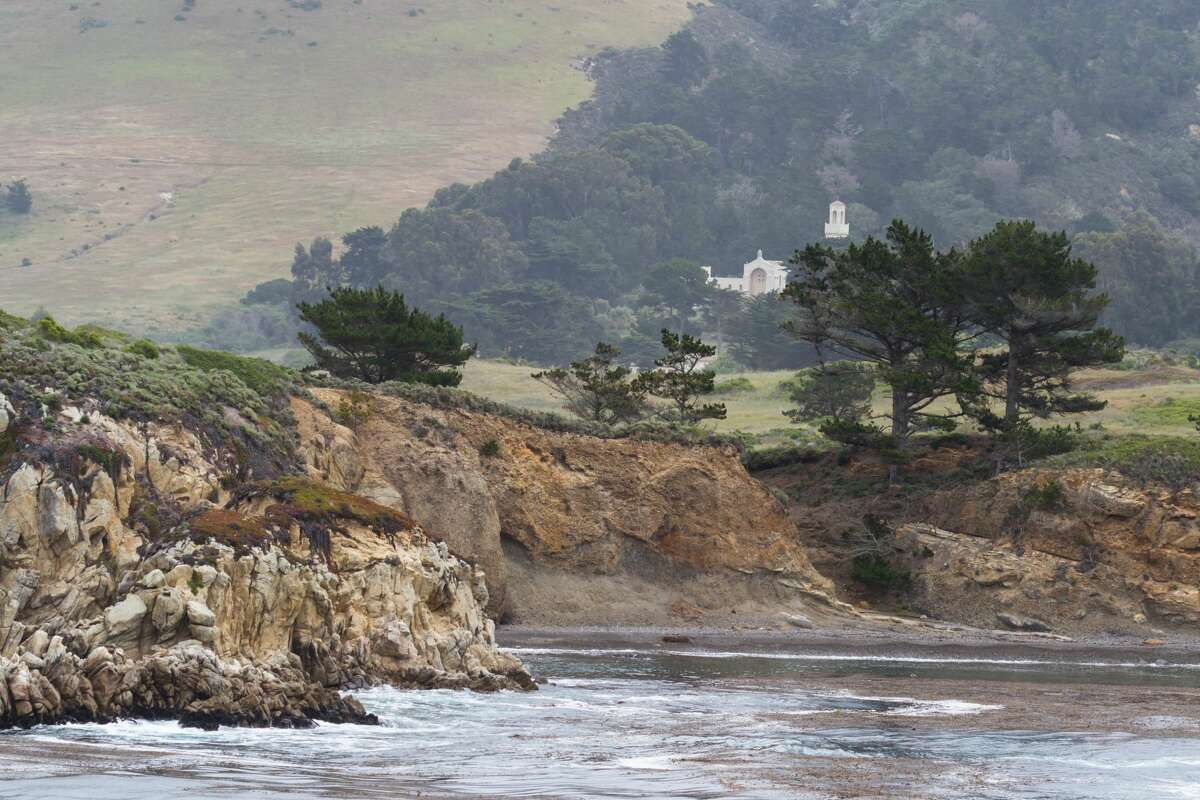 Rocks near Monastery Beach, Carmel, Calif.