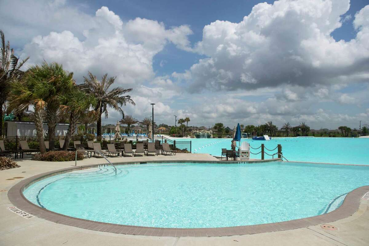 Builders started 707 homes last year in Balmoral, a development of Land Tejas in Humble with Texas' first Crystal Clear Lagoon amenity.