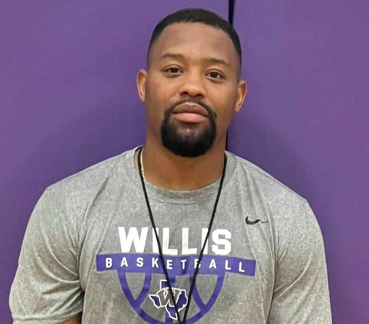 New Willis basketball coach Jeremy Clark.