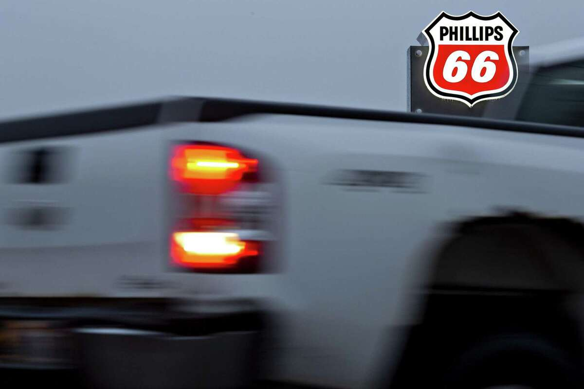 Phillips 66 was the largest public company headquarted in Houston, but took a big hit to its revenues last year. Revenues fell at 78 or the region's 100 biggest companies.