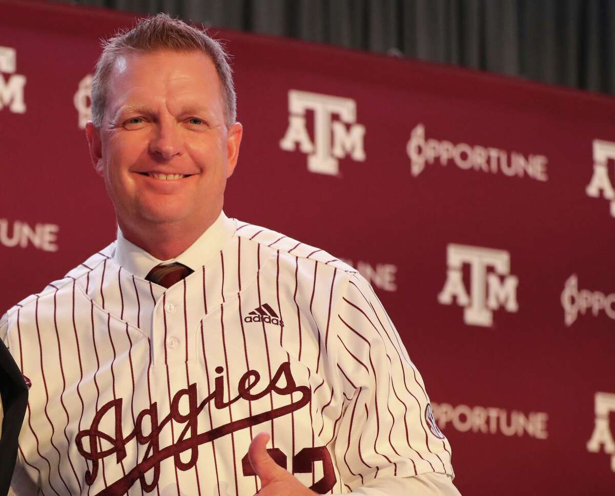 Jim Schlossnagle is charged with getting Texas A&M back to the College World Series, where predecessor Rob Childress went a combined 0-4 in 2011 and 2017.