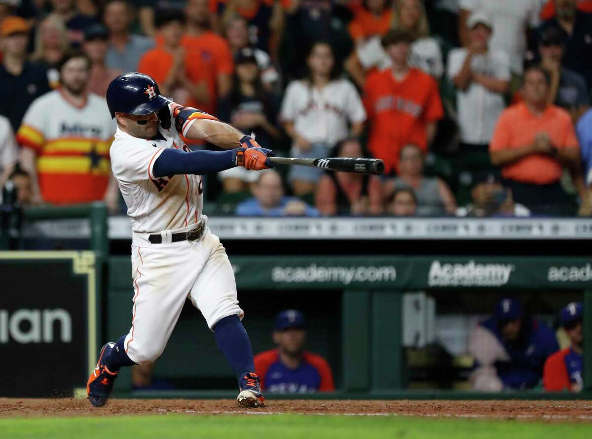 After his walkoff grand slam to win Tuesday's game, Jose Altuve followed it with a leadoff homer Wednesday, becoming the first MLB player to accomplish that feat.