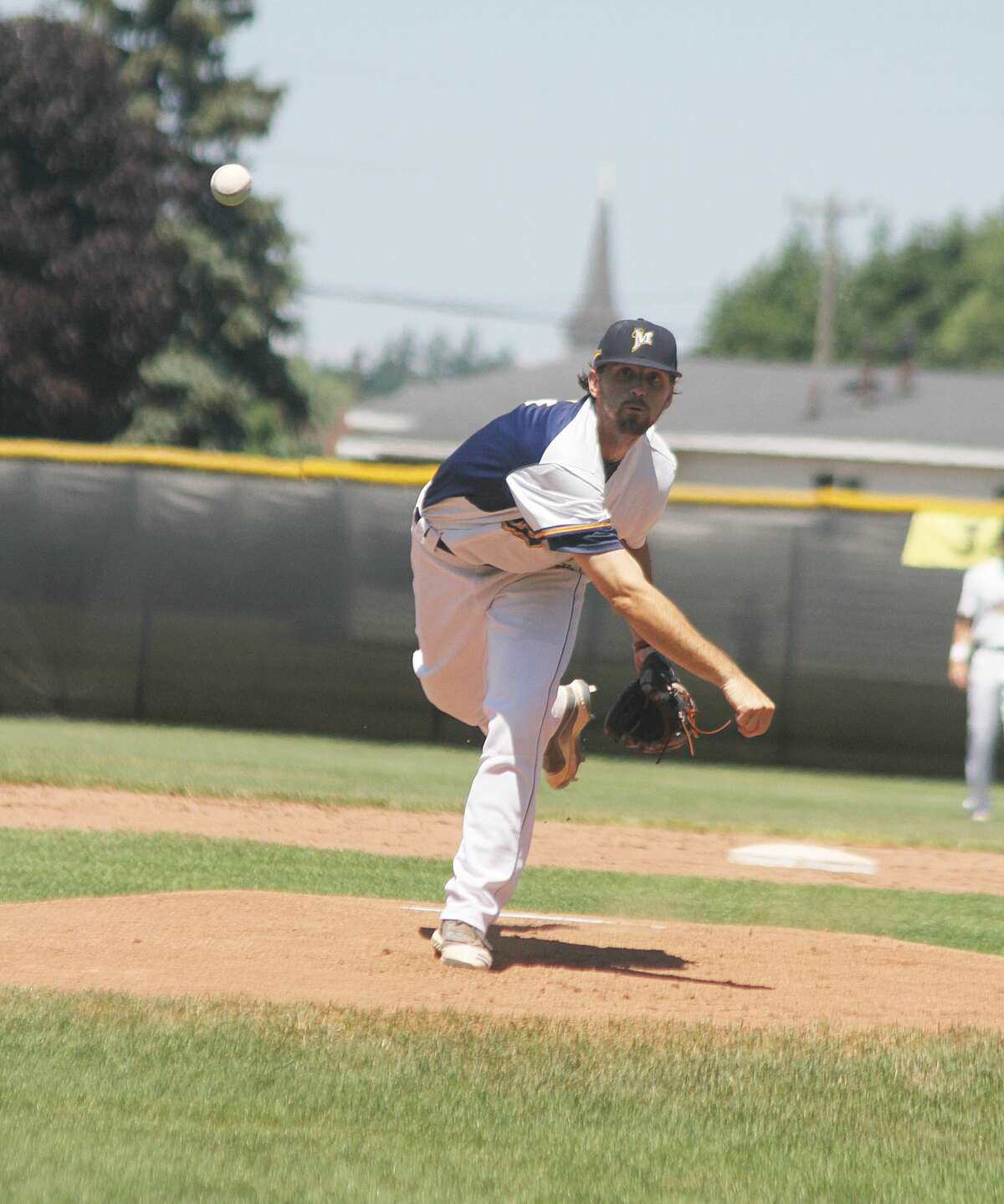 Roddy MacNeil and the Manistee Saints will travel to Big Rapids on Wednesday for a midweek game against the Grand Rapids Brewers.
