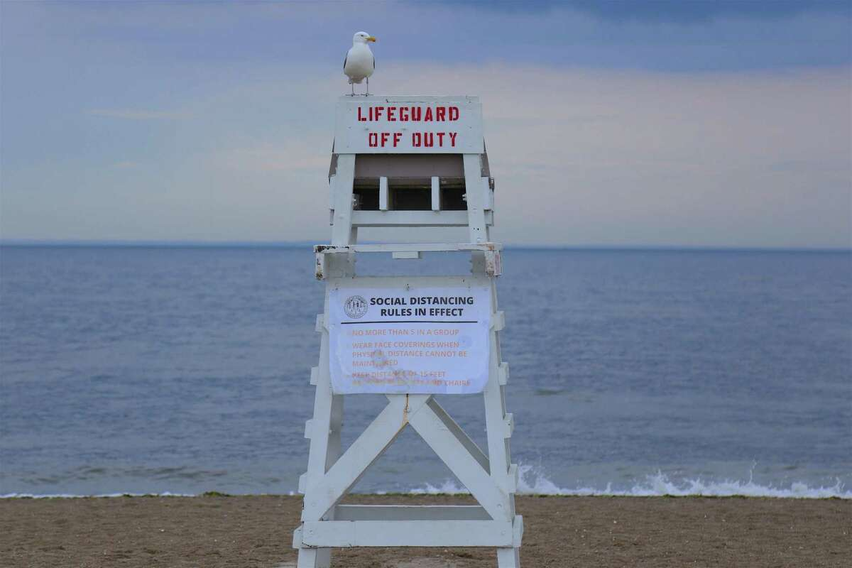 Connecticut officials say there will be more empty lifeguard chairs this summer due to low staffing levels.