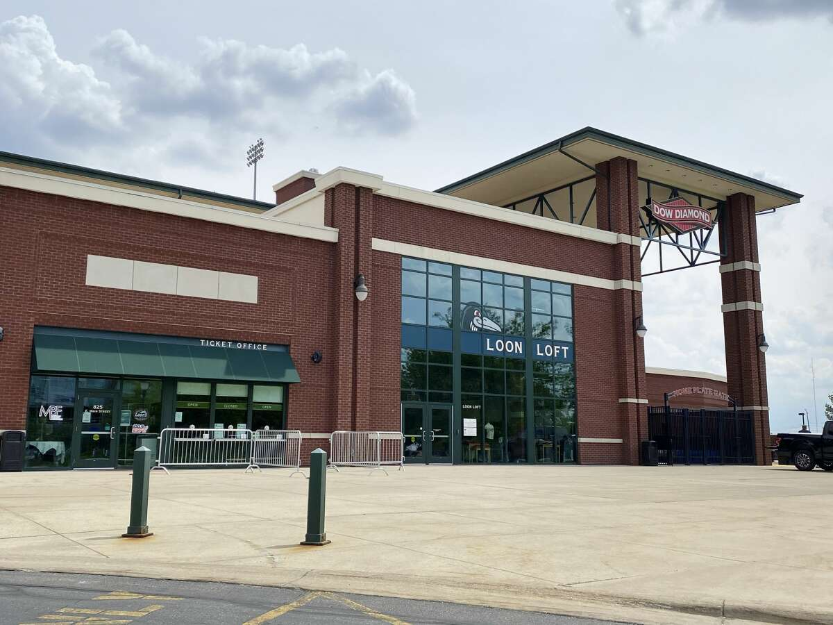 Dow Diamond is located at 825 E. Main St. in Midland. (Katy Kildee/kkildee@mdn.net)