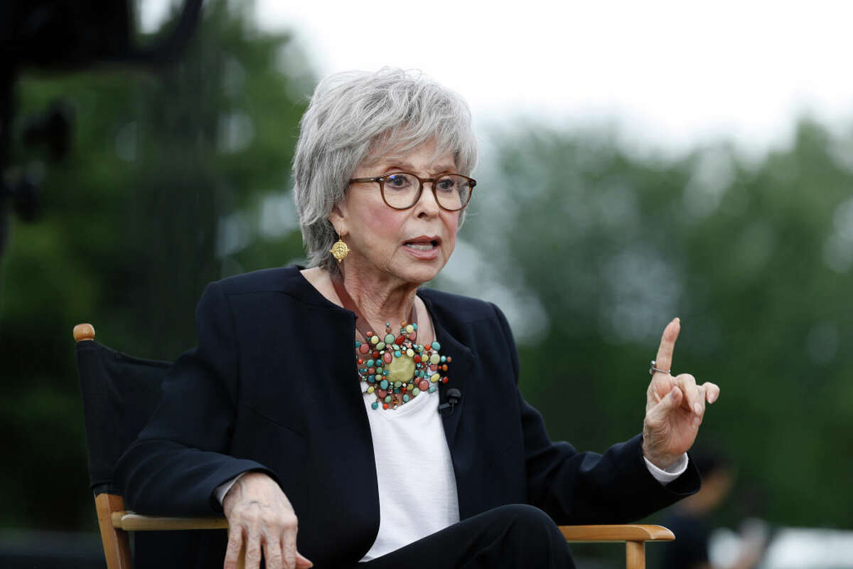 NEW YORK, NEW YORK - JUNE 13: Rita Moreno onstage during the Rita Moreno Puerto Rican Day Parade Celebration during the 2021 Tribeca Festival on June 13, 2021 in New York City. (Photo by John Lamparski/Getty Images for Tribeca Festival)