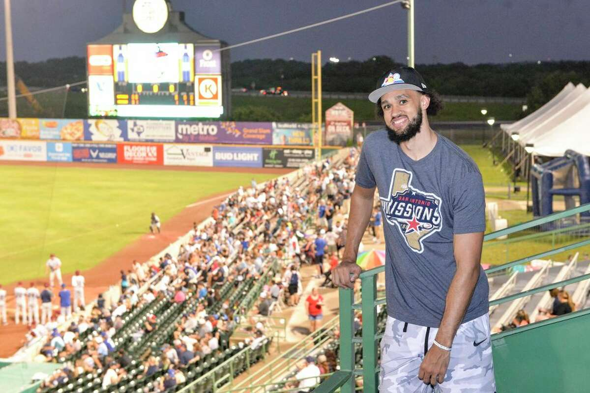 Derrick White was able to spend time meeting fans, snacking on Cracker Jacks and enjoying $2 last month at Wolff Stadium. This week, he threw out the first pitch at Tuesday's game.