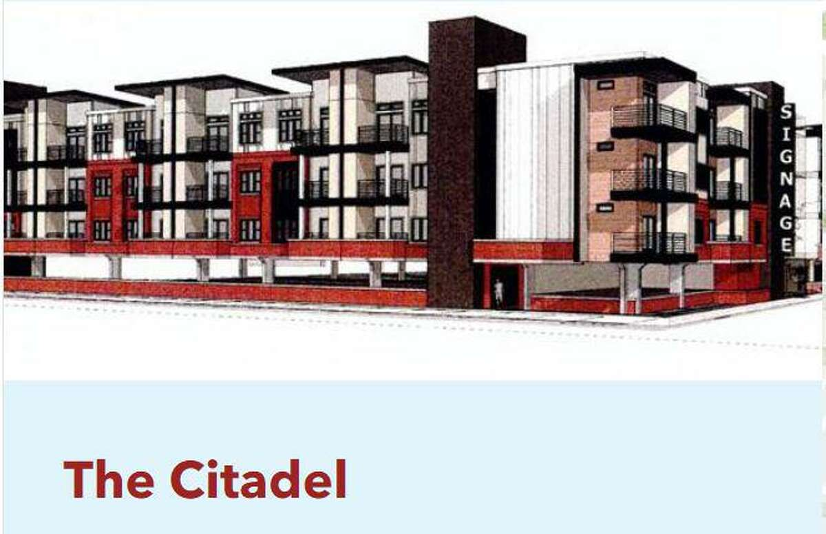 A rendering of The Citadel, an affordable housing complex for seniors planned for Elgin Street in Third Ward. The city voted Wednesday to use $10.2 million in Harvey relief funds to help finance the project.
