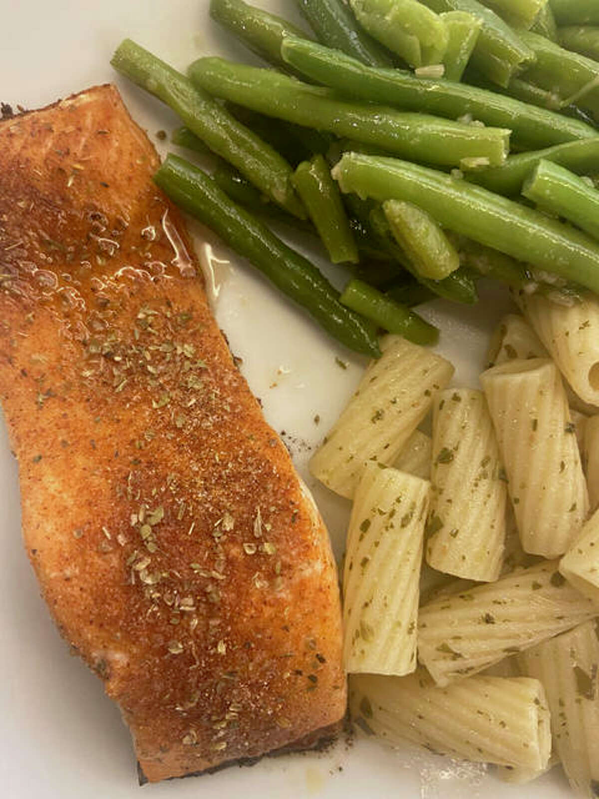 Sweet and spicy blackened salmon