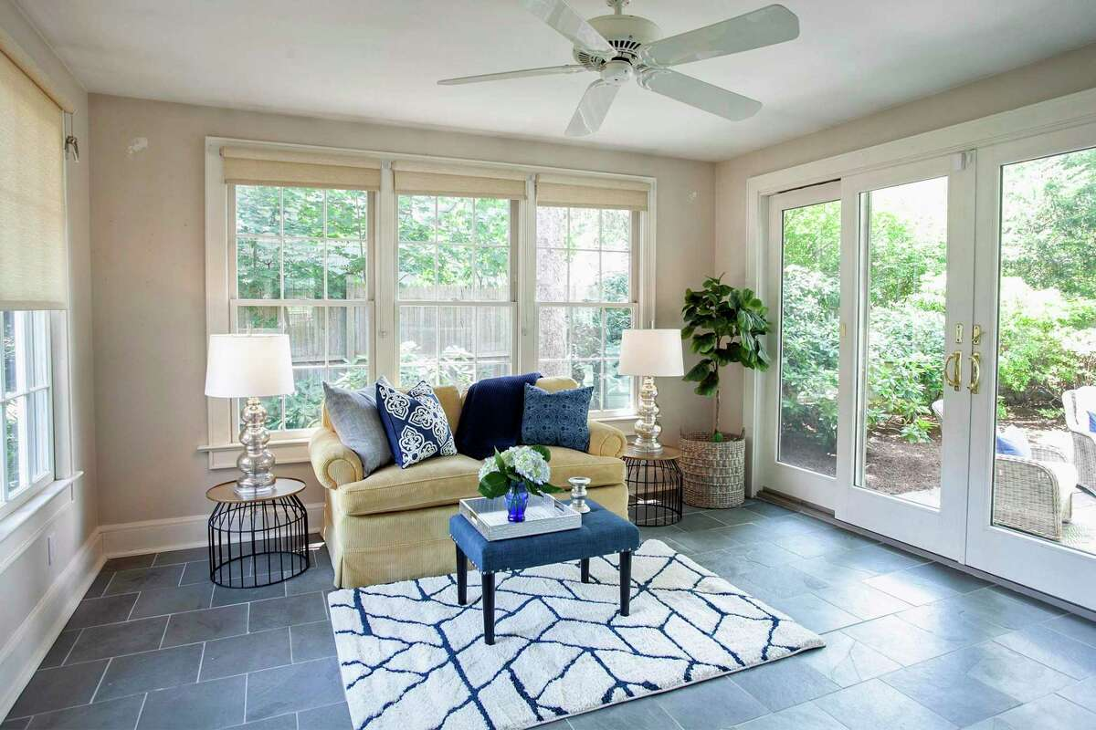Use ceiling fans with blades set counter-clockwise to help circulate cooler air.
