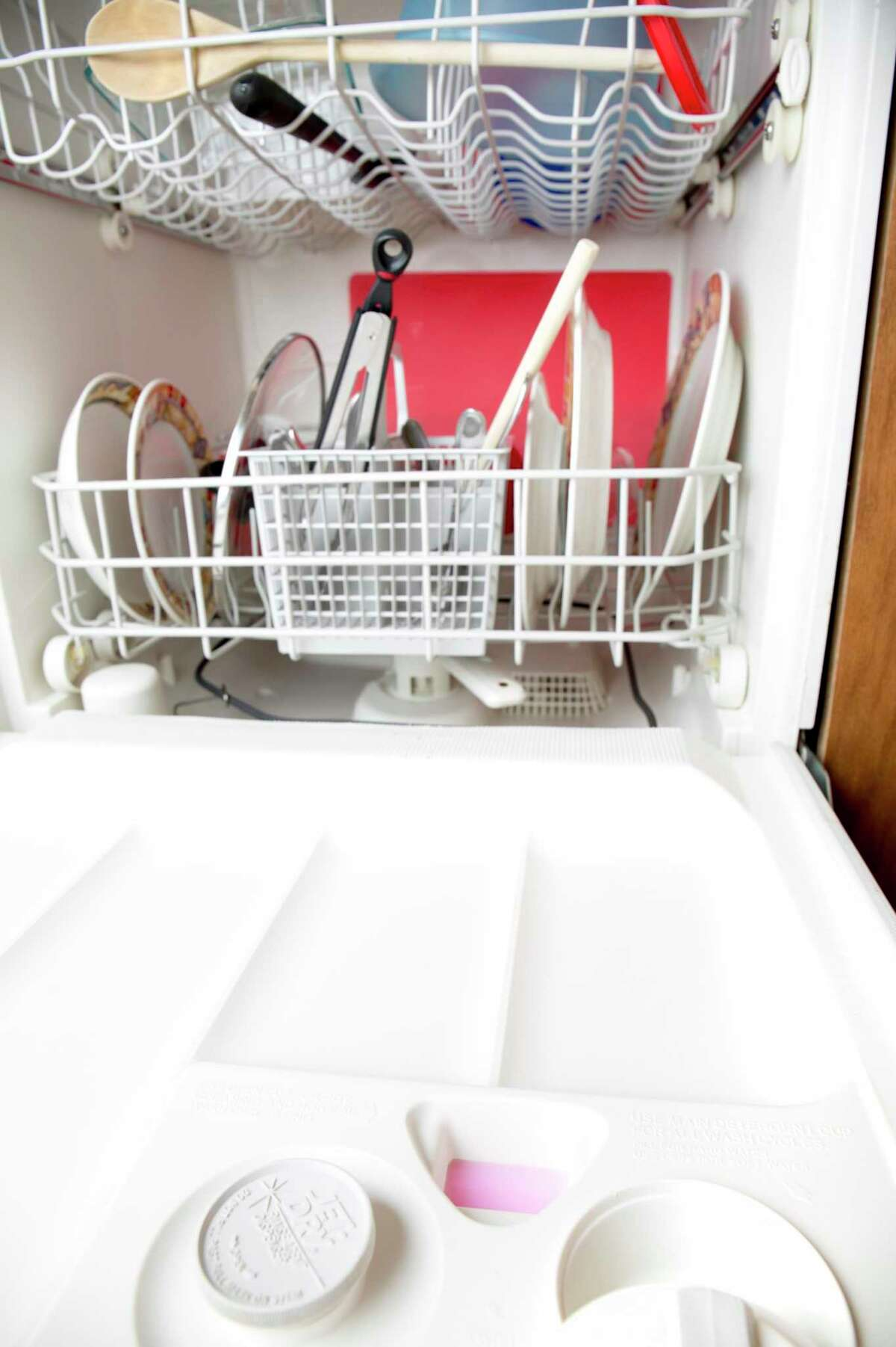 Run your dishwasher - as well as your washer and dryer - in early morning or after sundown.