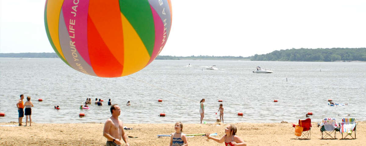 Carlyle Lakehas a number of beaches for you to enjoy. You can find a nice subtle place to relax or be amongst people again after spending all that time inside with the pandemic. Pictured is Dam West Beach, which is a great place to take the family and enjoy the summer sun on the water.