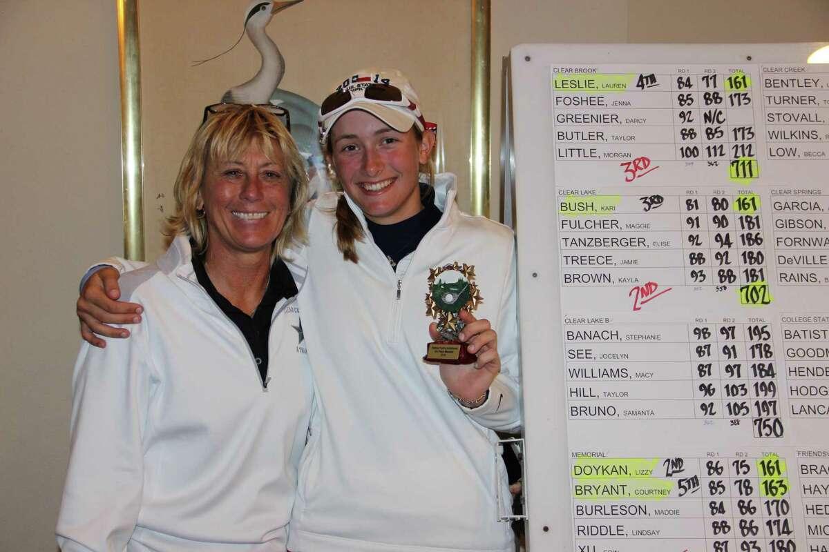 Clear Clear ISD Director of Athletics Debbie Fuchs was always present at the Debbie Fuchs Invitational golf tournament.