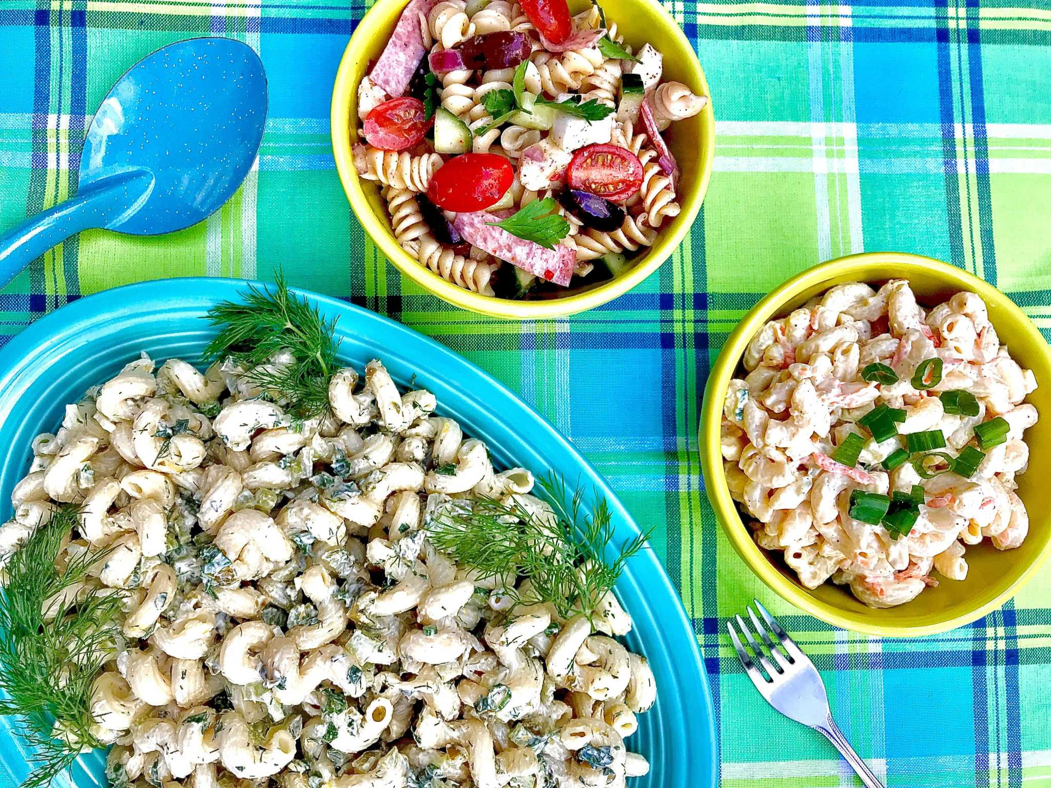 Here are some helpful tips to improve your pasta salad game