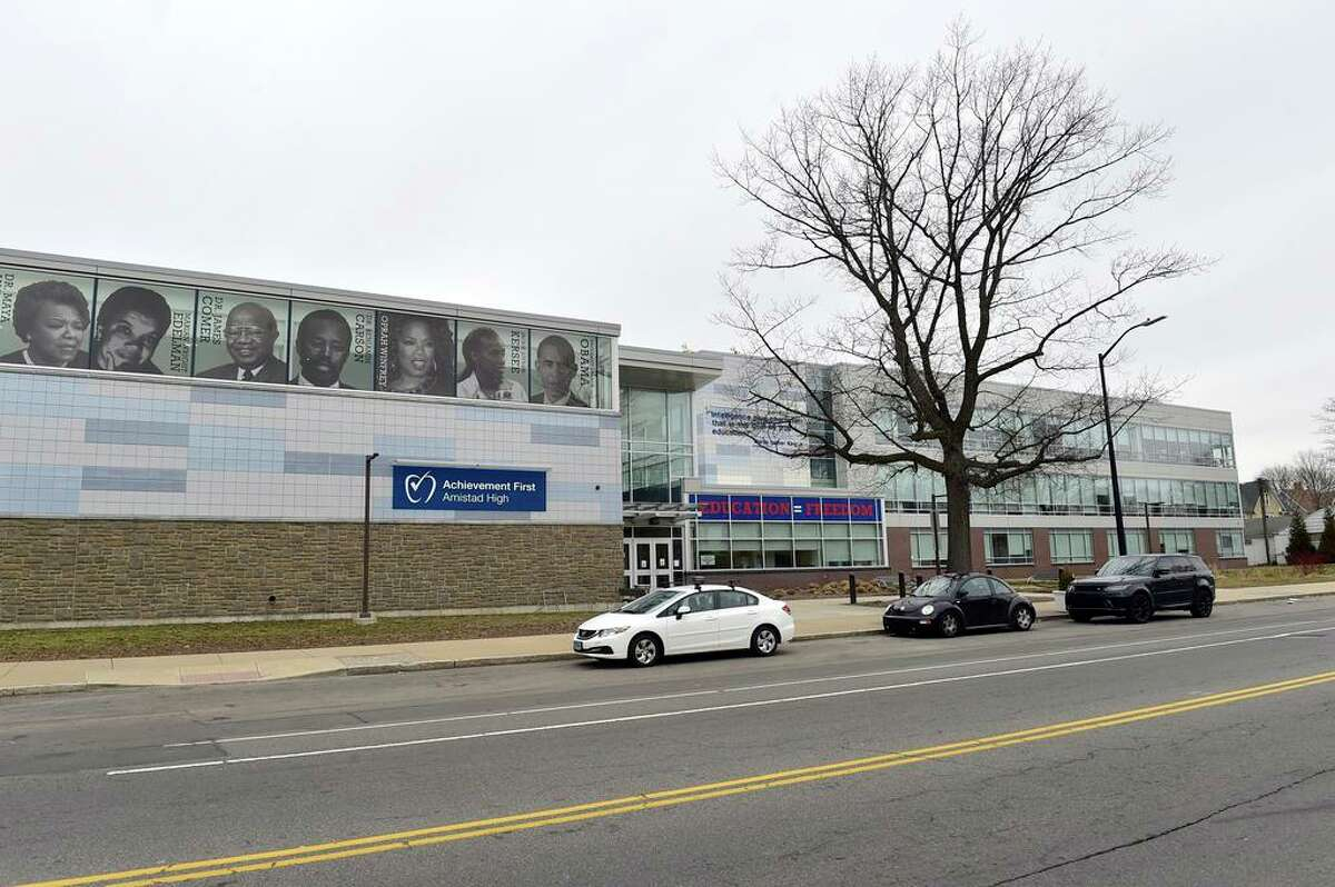 Achievement First Amistad High School on Dixwell Avenue in New Haven
