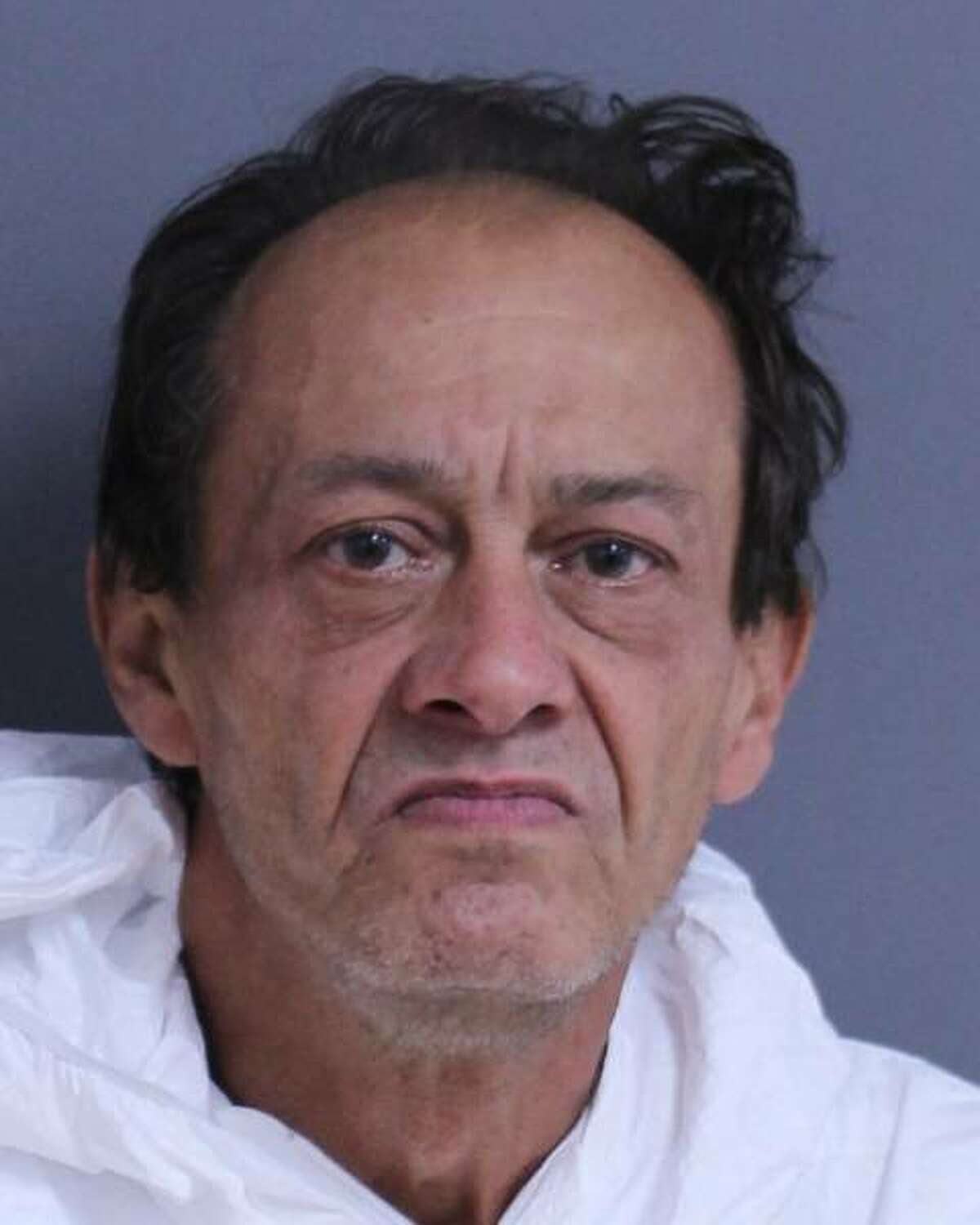 Raymond George was charged with manslaughter after ramming his car into a man sitting outside a motel in Cobleskill June 15, 2021, killing the man and his two dogs.