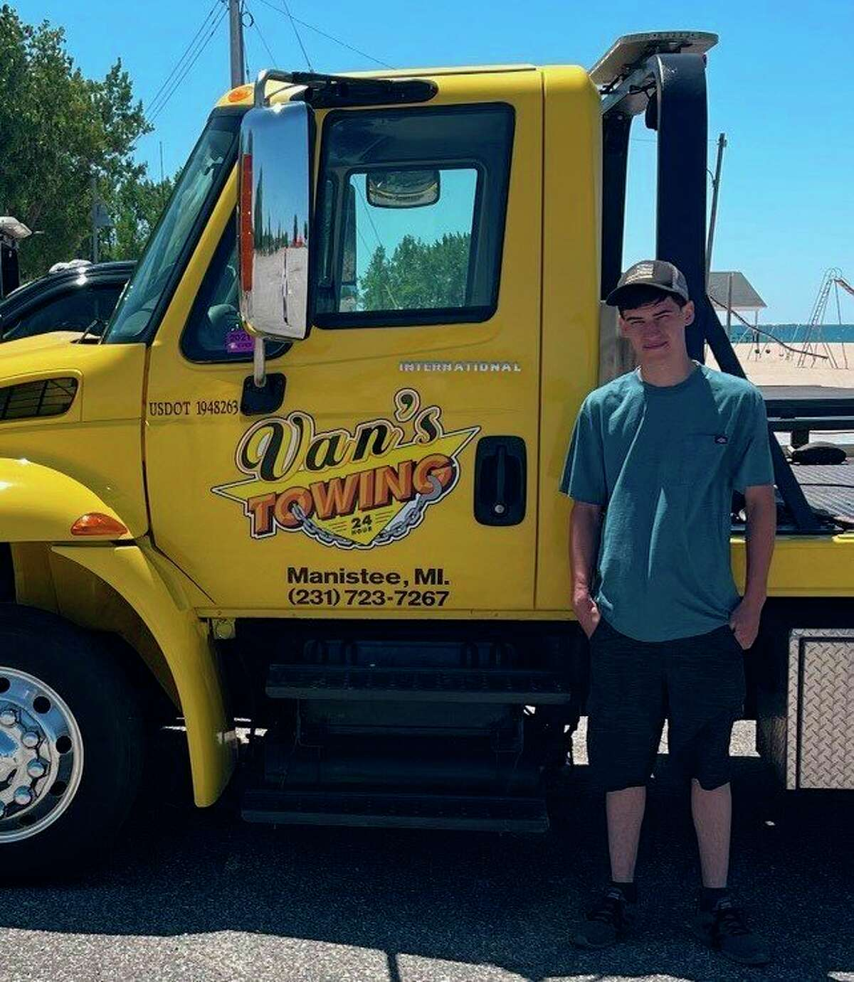 Statewide Towingin Bear Lake, owned byJohn Adams, purchased Van's Towing of Manistee in February. It will be operated by John's son Dean. (Courtesy photo)