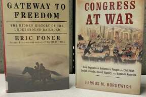 """""""Gateway to Freedom: the Hidden History of the Underground Railroad"""" by Eric Foner highlights the people who risked their lives to save millions of others from being forced back into slavery. With details taken from secret records, Foner introduces the resistance who secreted runaway enslaved people to safety despite contentious politicians and hostile laws. (Courtesy photo)"""