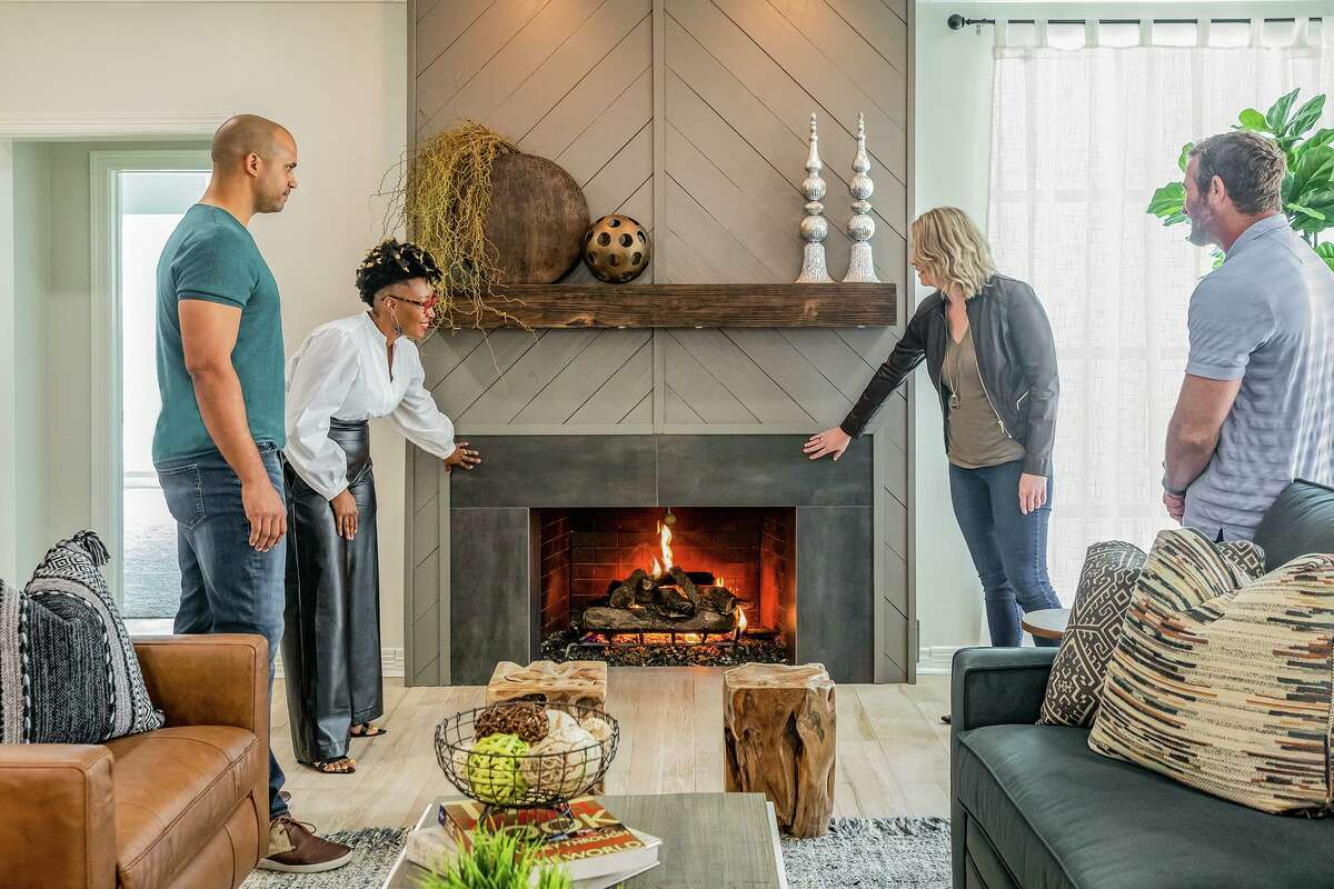 """Jon Pierre and Mary Tjon-Joe-Pin's new HGTV show, """"Two Steps Home,"""" debuts June 16, 2021. The Houston-based couple helps clients get a home ready for sale and then purchase a new one."""