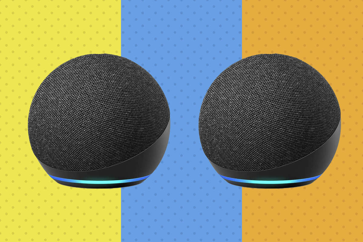 Echo Dot (newest generation) two-for-one sale for $49.98 with Promo Code PDDOT2PK.